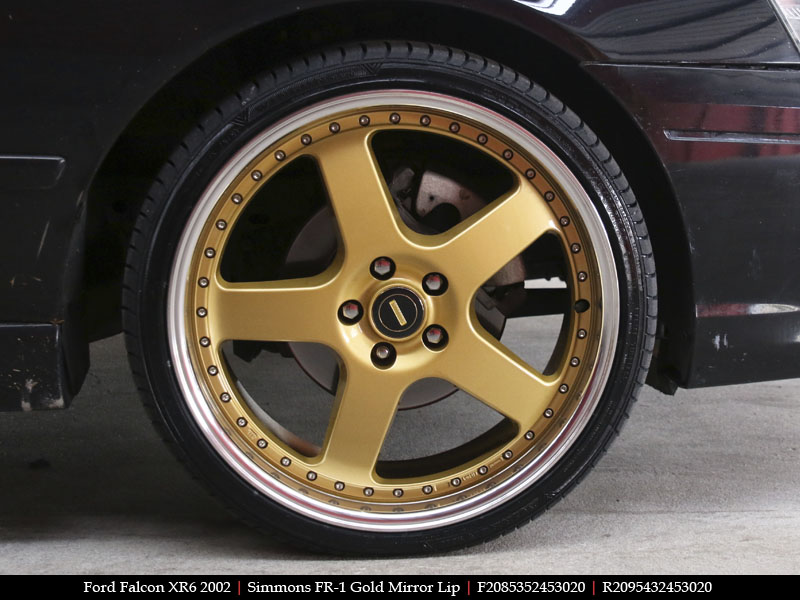 simmonswheels on ford bf falcon
