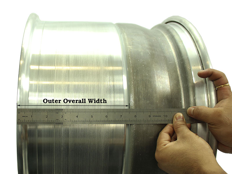 Outer Overall Width